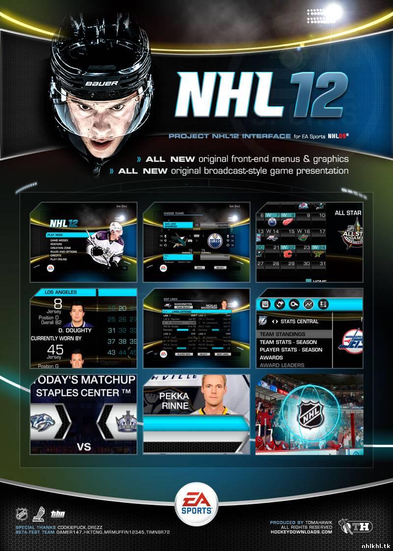 World of NHL - Патчи и дополнения для NHL 09.